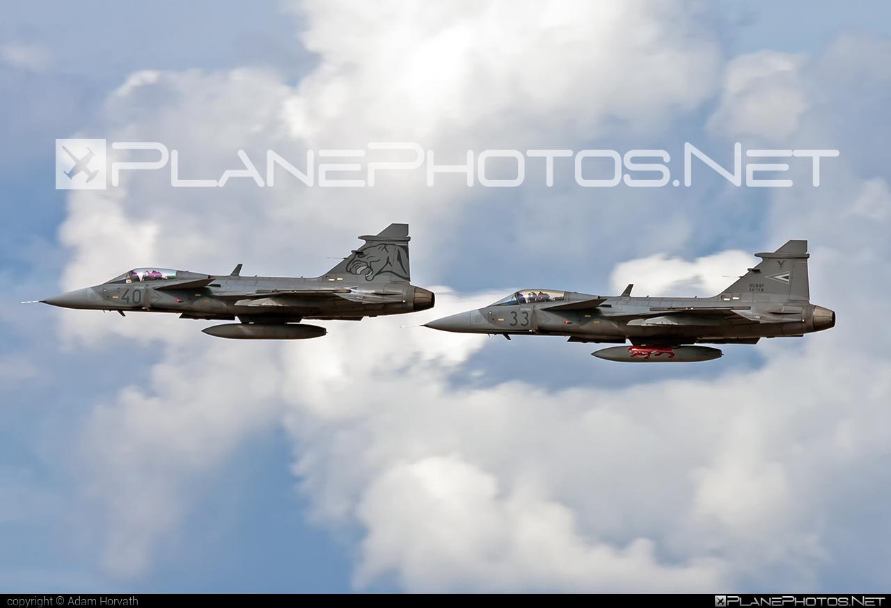 Saab JAS 39C Gripen - 40 operated by Magyar Légierő (Hungarian Air Force) #gripen #hungarianairforce #jas39 #jas39c #jas39gripen #magyarlegiero #redbullairrace #redbullairracebudapest #saab