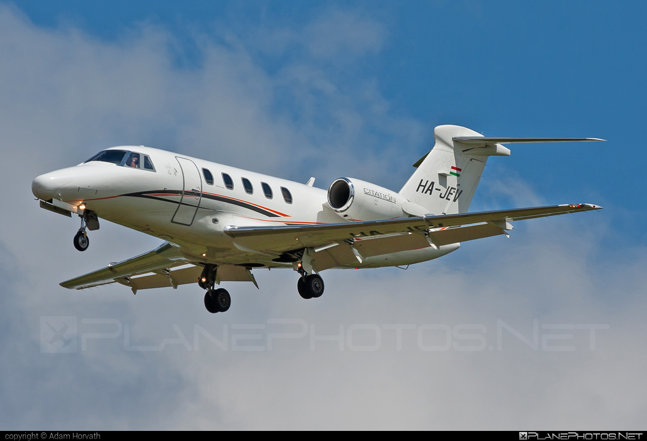 Cessna 650 Citation III - HA-JEV operated by Private operator #cessna