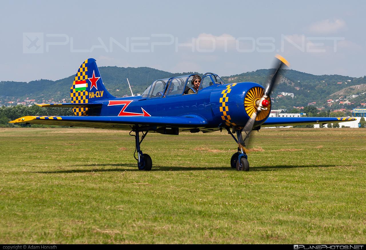 Private operator Yakovlev Yak-52 - HA-CLV #yak #yak52 #yakovlev