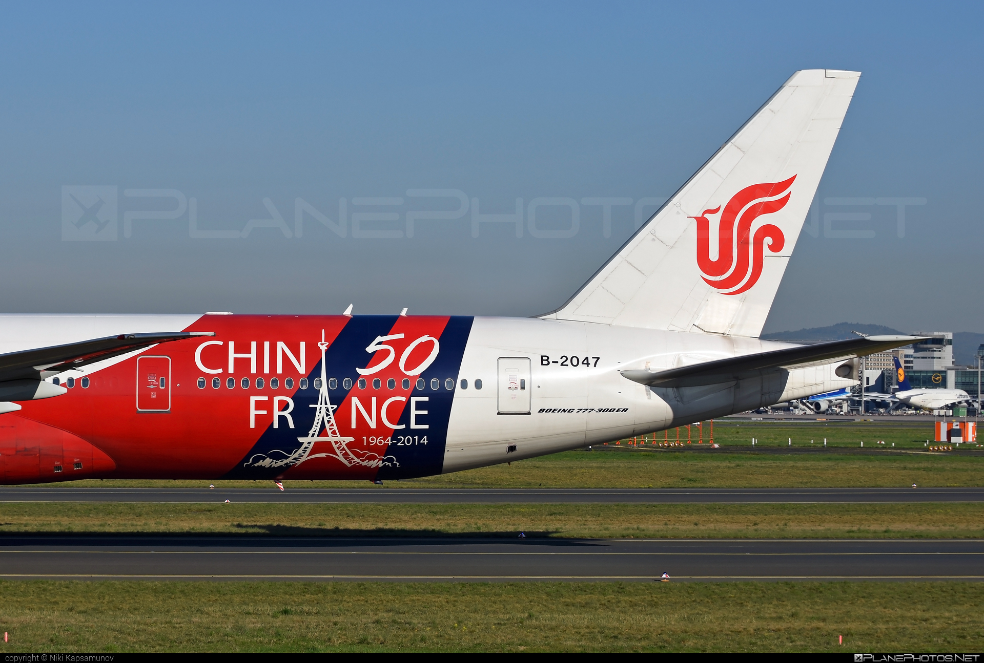 Boeing 777-300ER - B-2047 operated by Air China #airchina #b777 #b777er #boeing #boeing777 #tripleseven