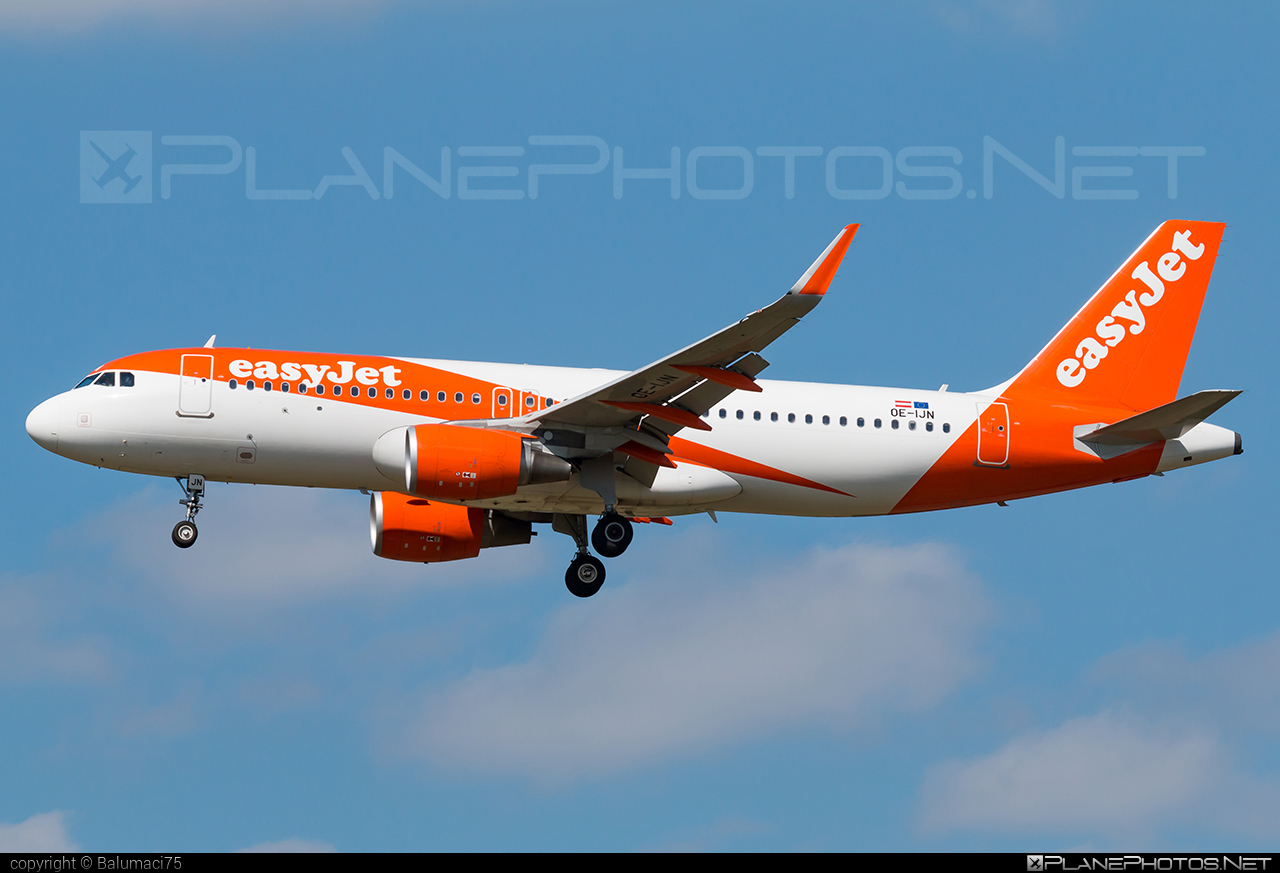Airbus A320-214 - OE-IJN operated by easyJet Europe #a320 #a320family #airbus #airbus320 #easyjet #easyjeteurope