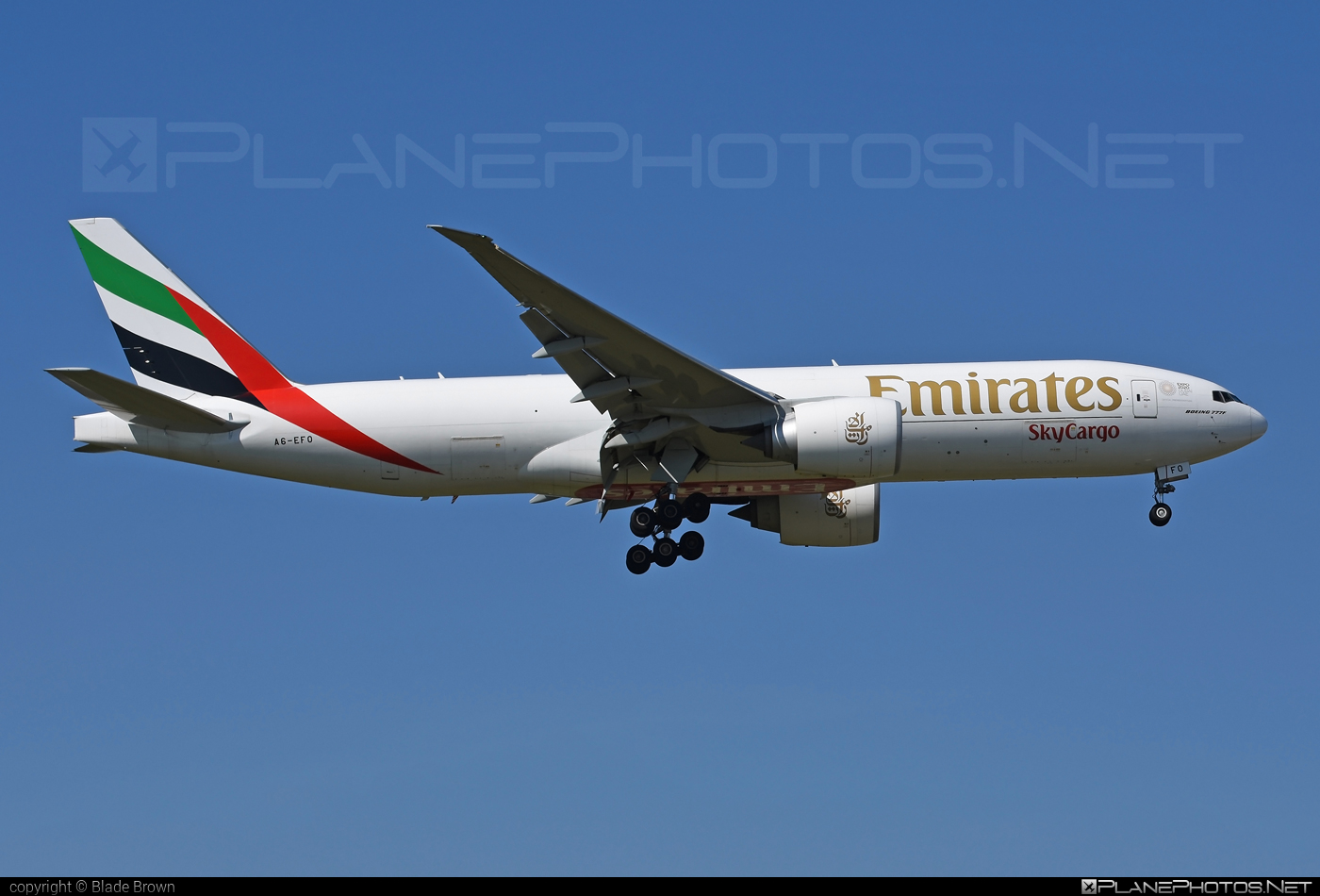 Boeing 777F - A6-EFO operated by Emirates SkyCargo #b777 #b777f #b777freighter #boeing #boeing777 #tripleseven