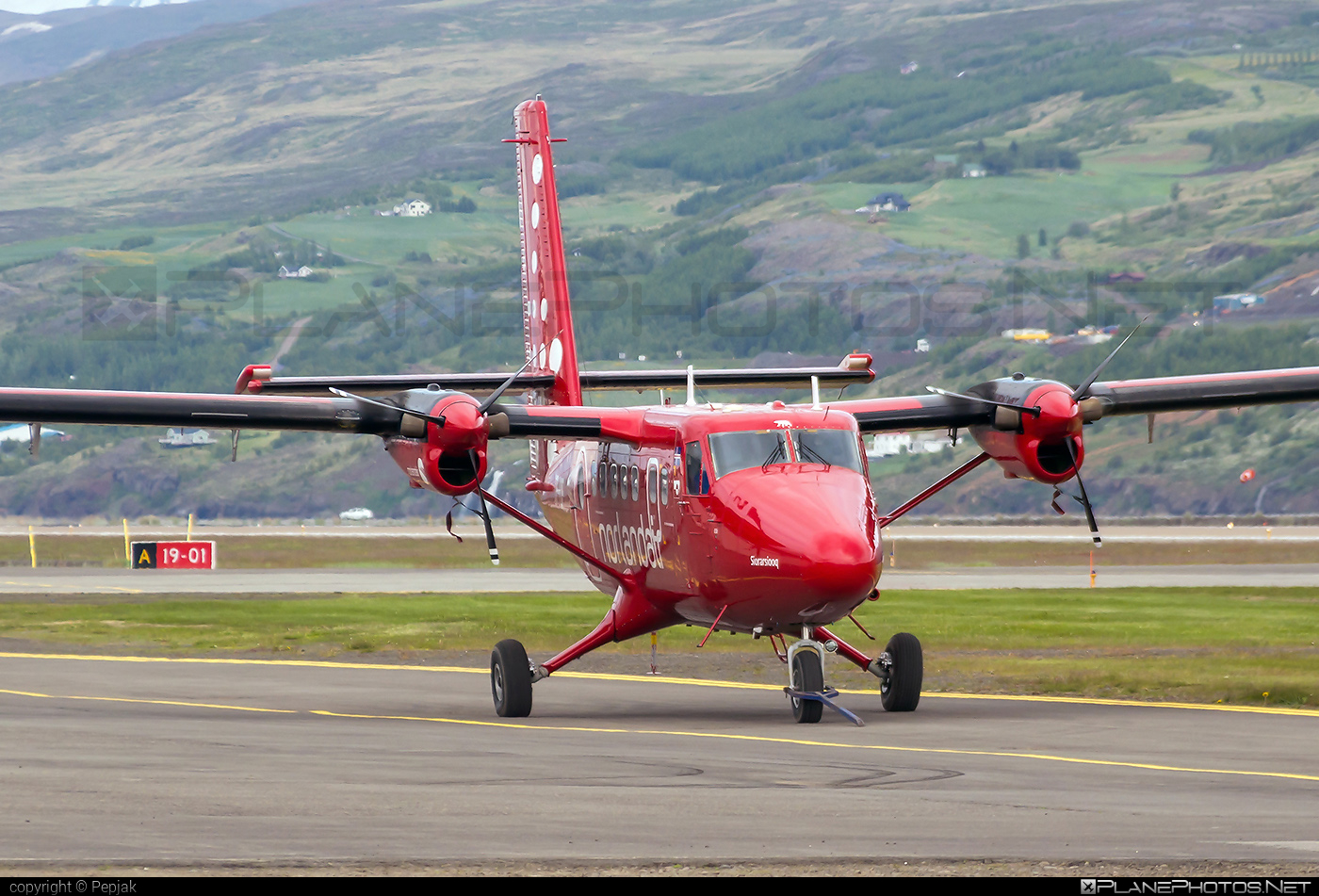 De Havilland Canada DHC-6-300 Twin Otter - TF-POF operated by Nordlandair #dehavillandcanada #nordlandair