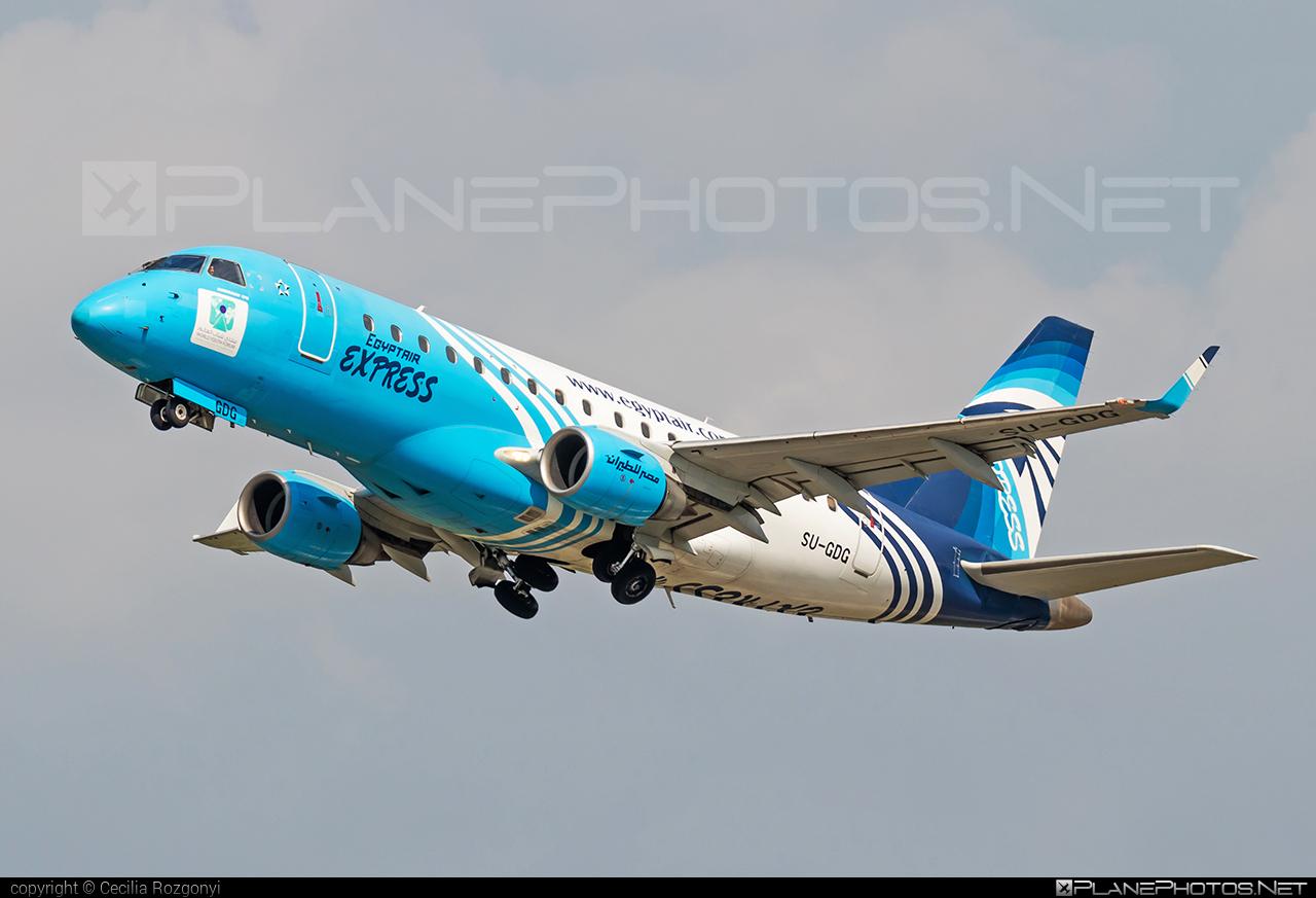 EgyptAir Express Embraer 170-100LR - SU-GDG #embraer