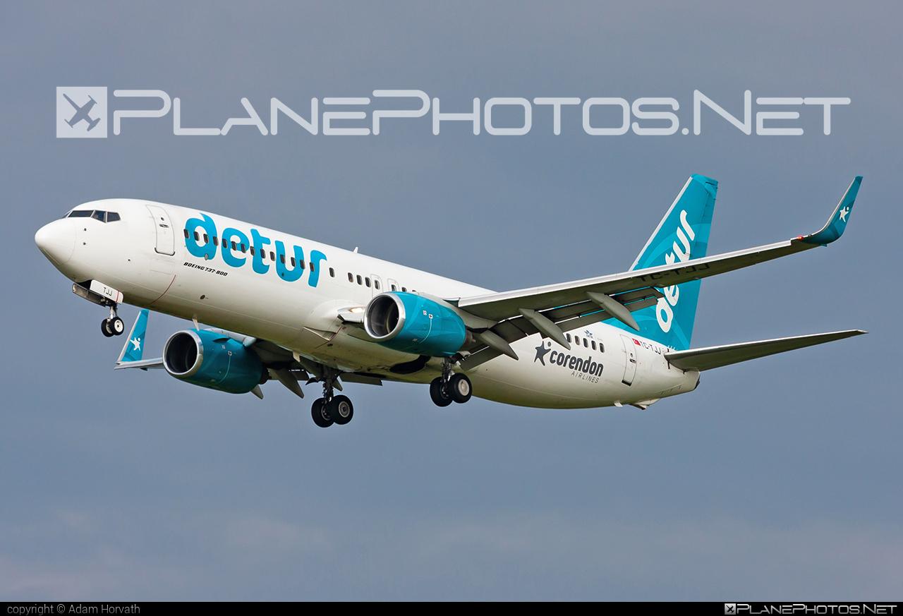 Corendon Airlines Boeing 737-800 - TC-TJJ #b737 #b737nextgen #b737ng #boeing #boeing737