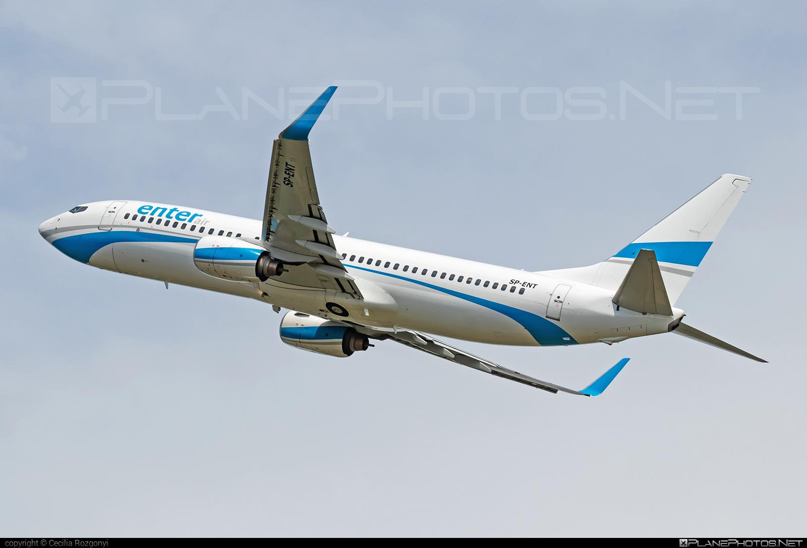 Enter Air Boeing 737-800 - SP-ENT #b737 #b737nextgen #b737ng #boeing #boeing737