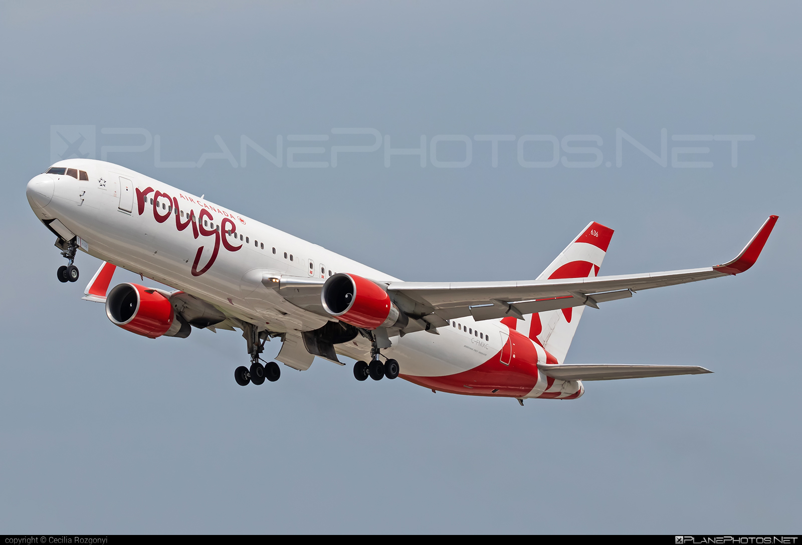 Air Canada Rouge Boeing 767-300ER - C-FMXC #aircanadarouge #b767 #b767er #boeing #boeing767