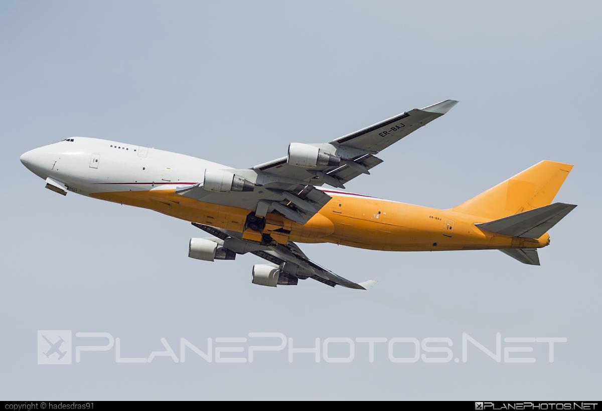 Aerotrans Cargo Boeing 747-400BDSF - ER-BAJ #aerotranscargo #b747 #b747bdsf #b747freighter #bedekspecialfreighter #boeing #boeing747 #jumbo