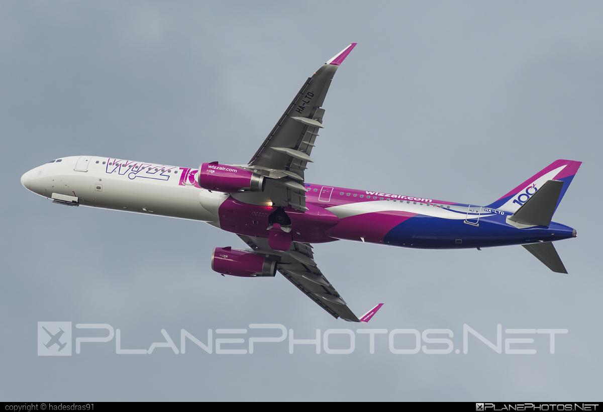 Wizz Air Airbus A321-231 - HA-LTD #a320family #a321 #airbus #airbus321 #wizz #wizzair