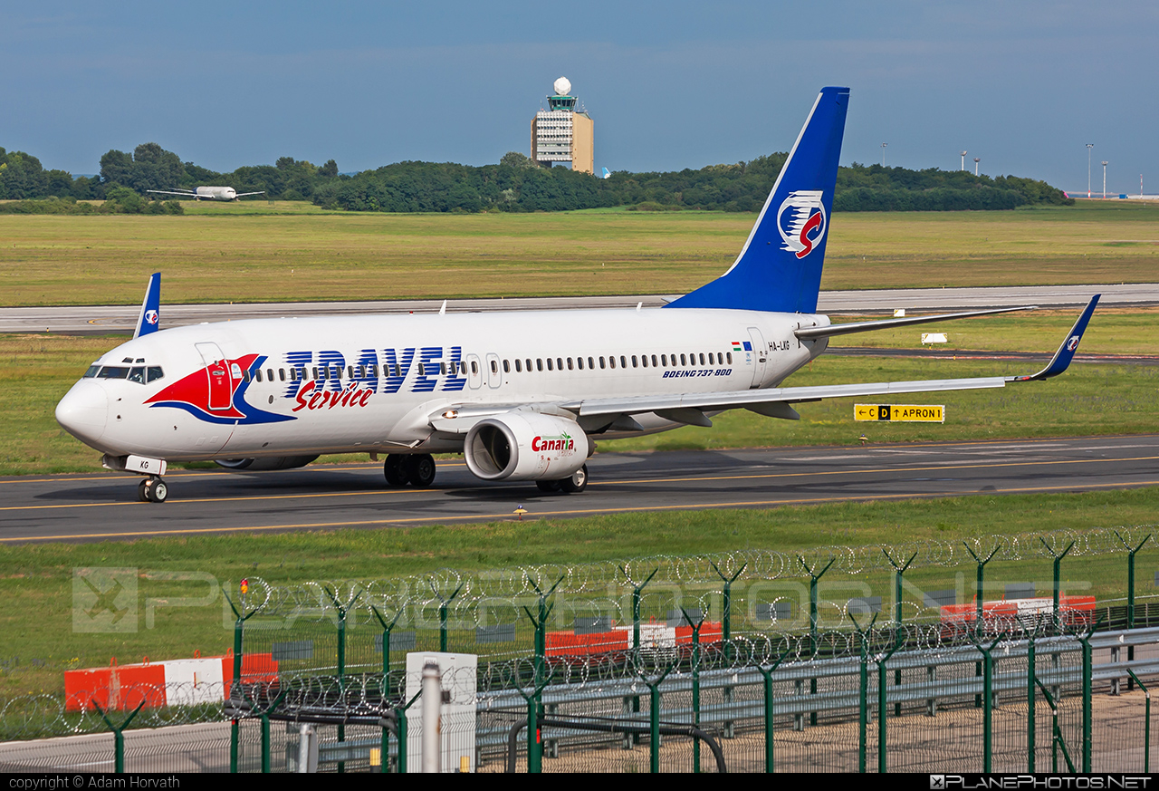 Boeing 737-800 - HA-LKG operated by Travel Service #b737 #b737nextgen #b737ng #boeing #boeing737 #travelservice