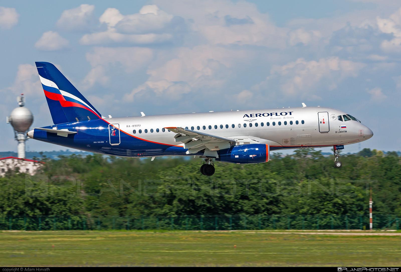 Aeroflot Sukhoi SSJ 100-95B Superjet - RA-89051 #aeroflot #ssj100 #ssj10095b #sukhoi #sukhoisuperjet #superjet