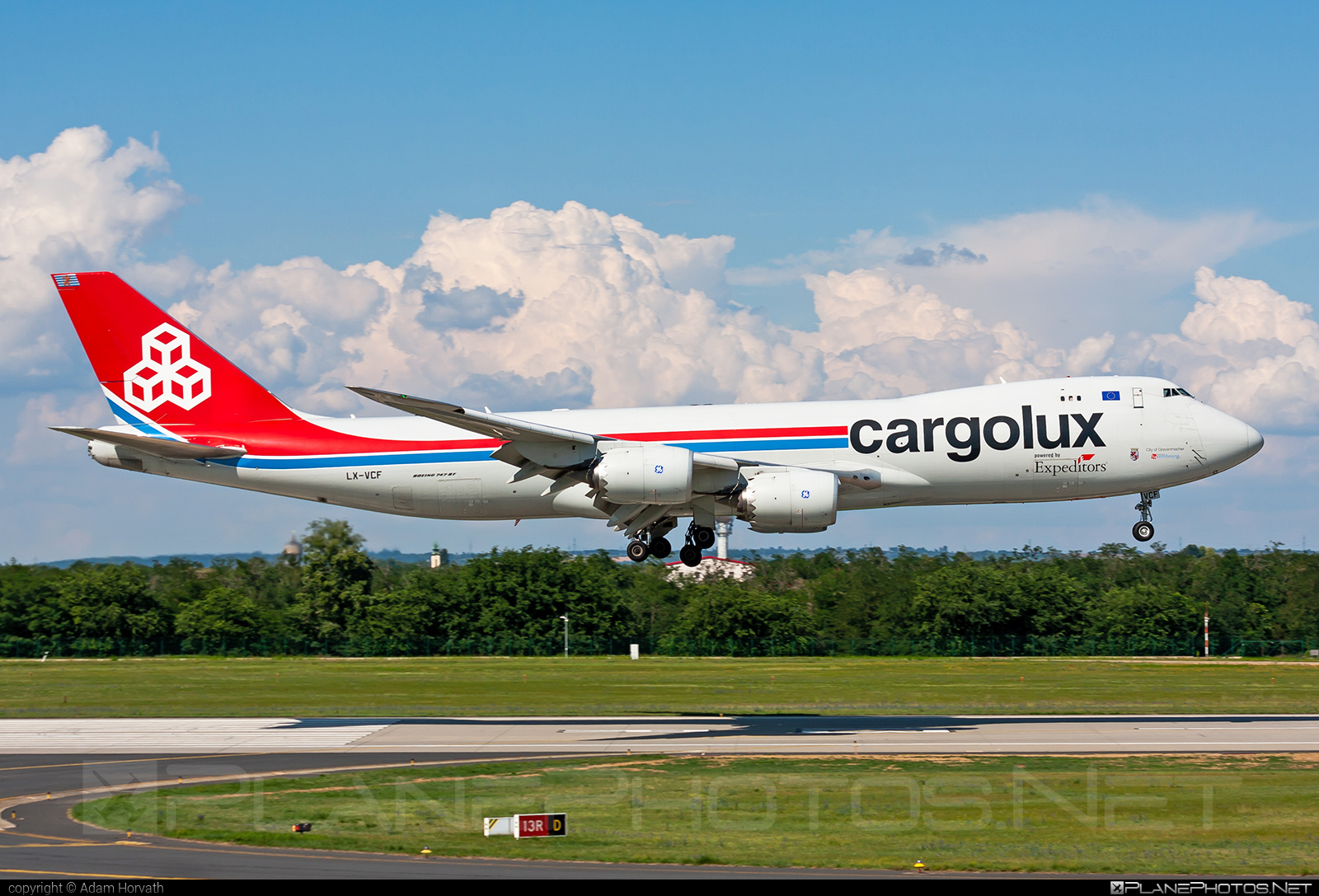 Boeing 747-8F - LX-VCF operated by Cargolux Airlines International #b747 #b747f #b747freighter #boeing #boeing747 #cargolux #jumbo