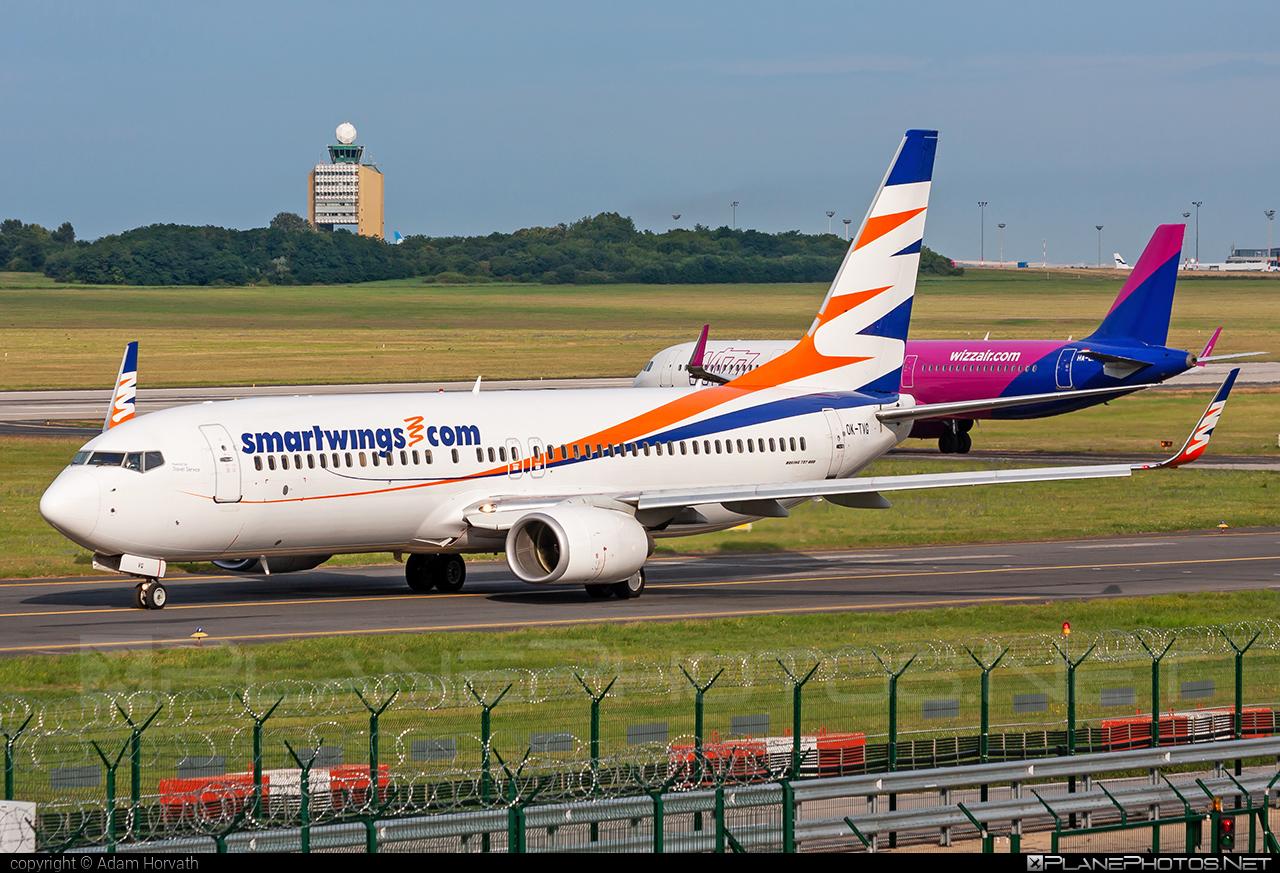 Travel Service Boeing 737-800 - OK-TVG #b737 #b737nextgen #b737ng #boeing #boeing737 #travelservice