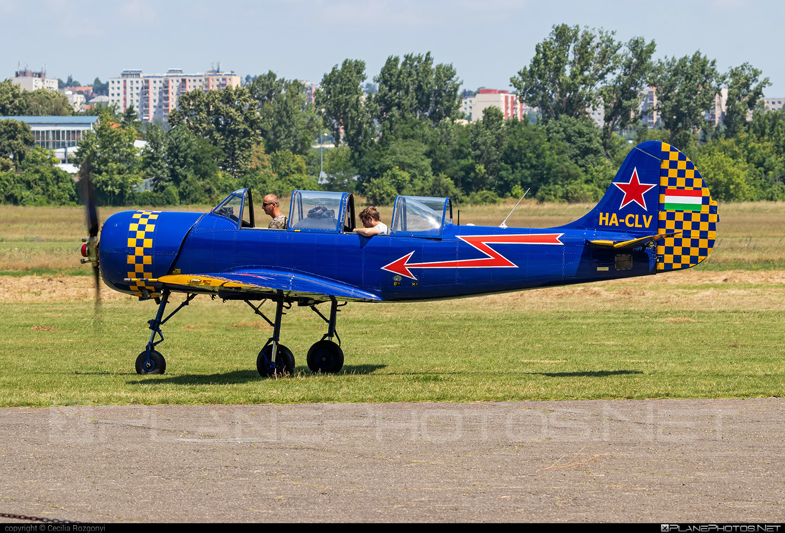 Aerostar Iak-52 - HA-CLV operated by Private operator #iak52 #yak52