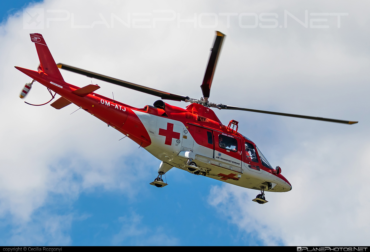 Agusta A109K2 - OM-ATJ operated by Air Transport Europe #a109 #a109k2 #agusta #agusta109 #agustaa109 #agustaa109k2 #airtransporteurope