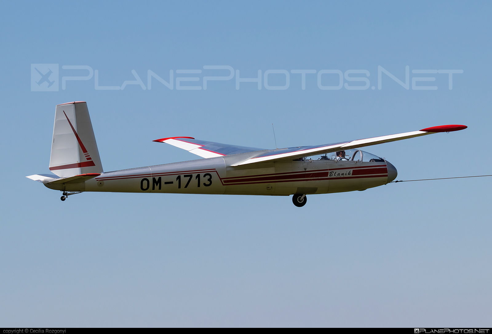 Let L-13A Blaník - OM-1713 operated by Slovenský národný aeroklub (Slovak National Aeroclub) #let