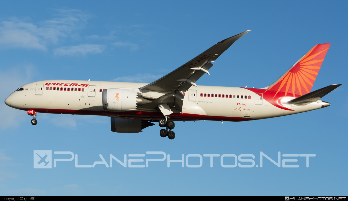 Boeing 787-8 Dreamliner - VT-ANC operated by Air India #b787 #boeing #boeing787 #dreamliner