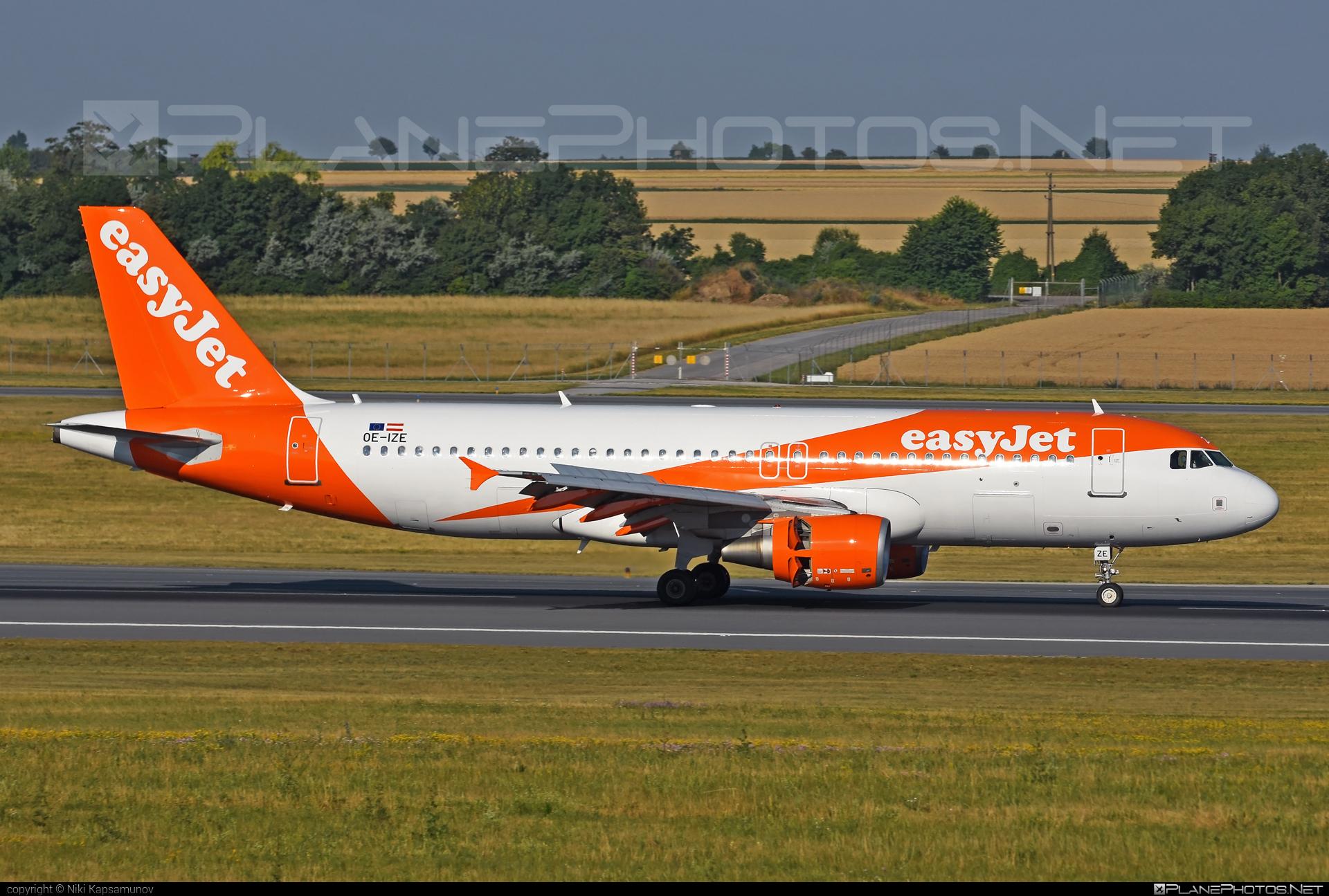 easyJet Europe Airbus A320-214 - OE-IZE #a320 #a320family #airbus #airbus320 #easyjet #easyjeteurope
