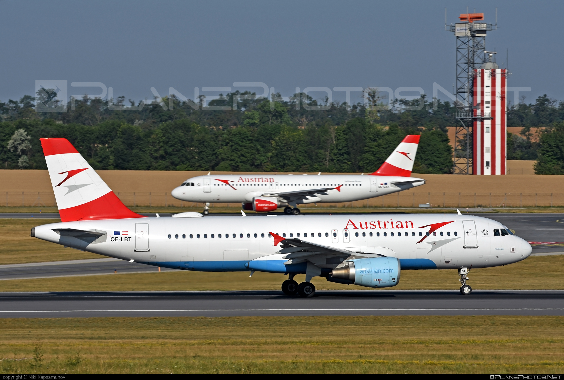 Airbus A320-214 - OE-LBT operated by Austrian Airlines #a320 #a320family #airbus #airbus320