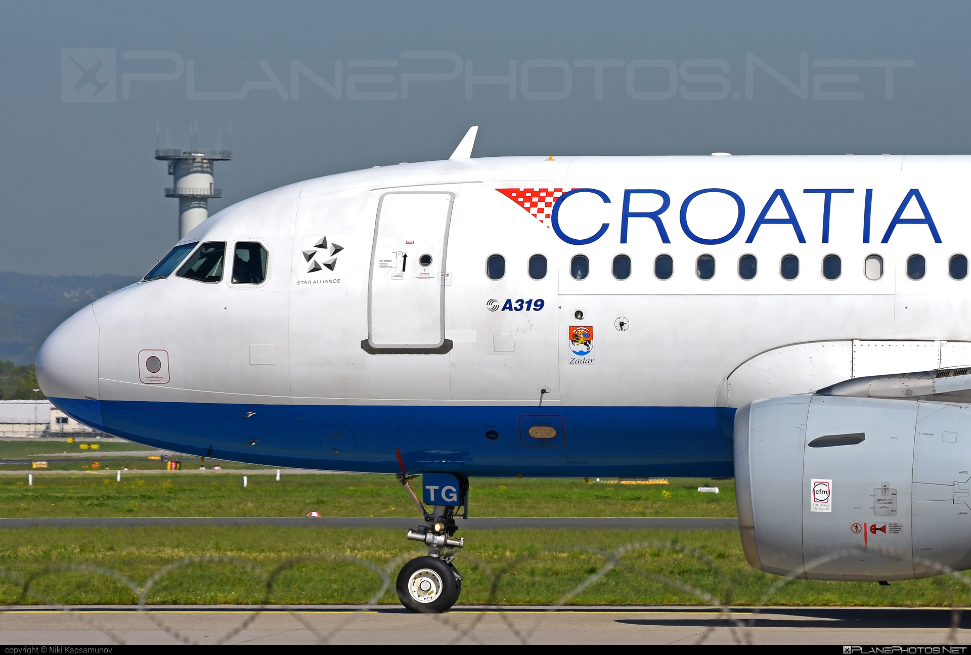 Croatia Airlines Airbus A319-112 - 9A-CTG #a319 #a320family #airbus #airbus319