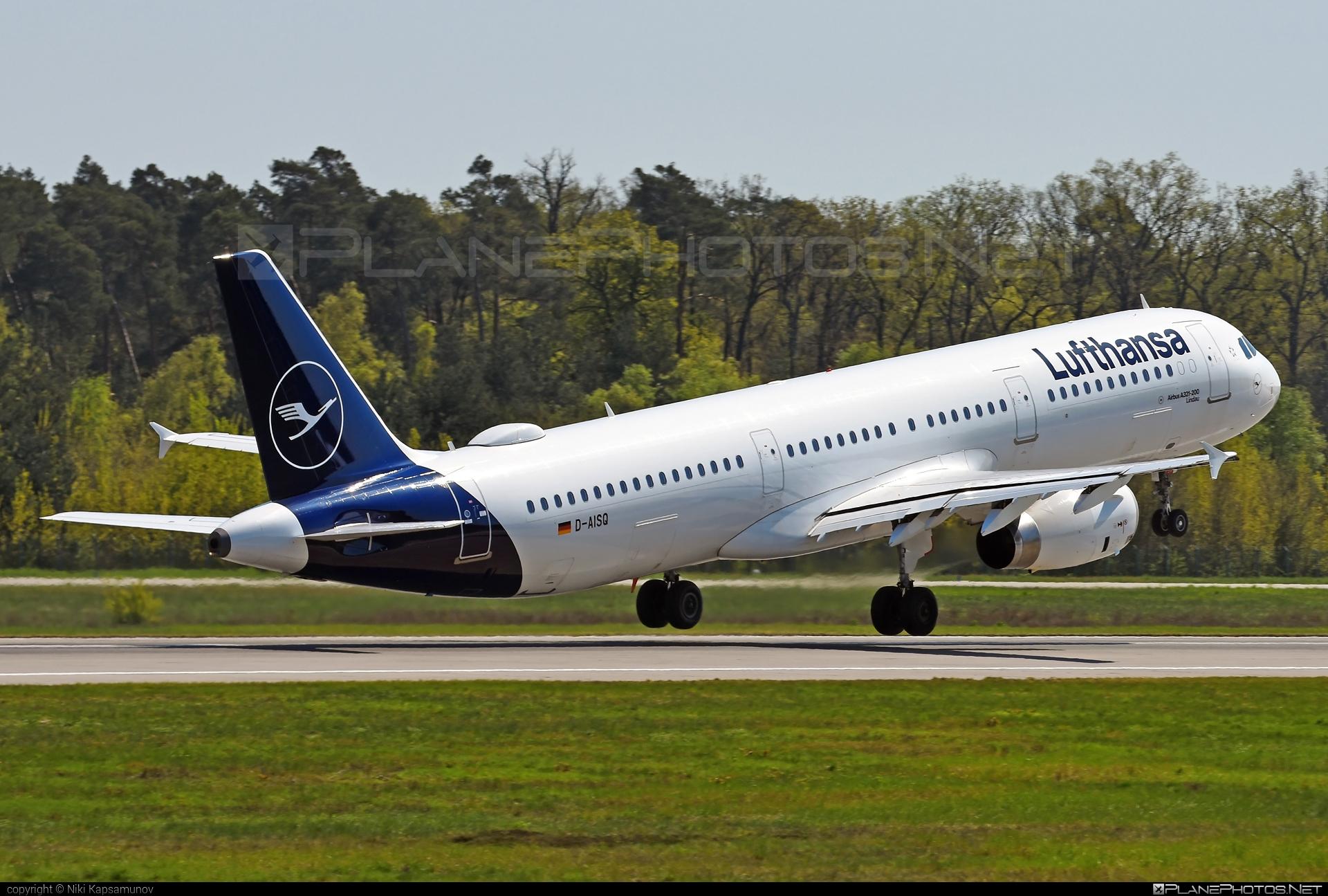 Airbus A321-231 - D-AISQ operated by Lufthansa #a320family #a321 #airbus #airbus321 #lufthansa