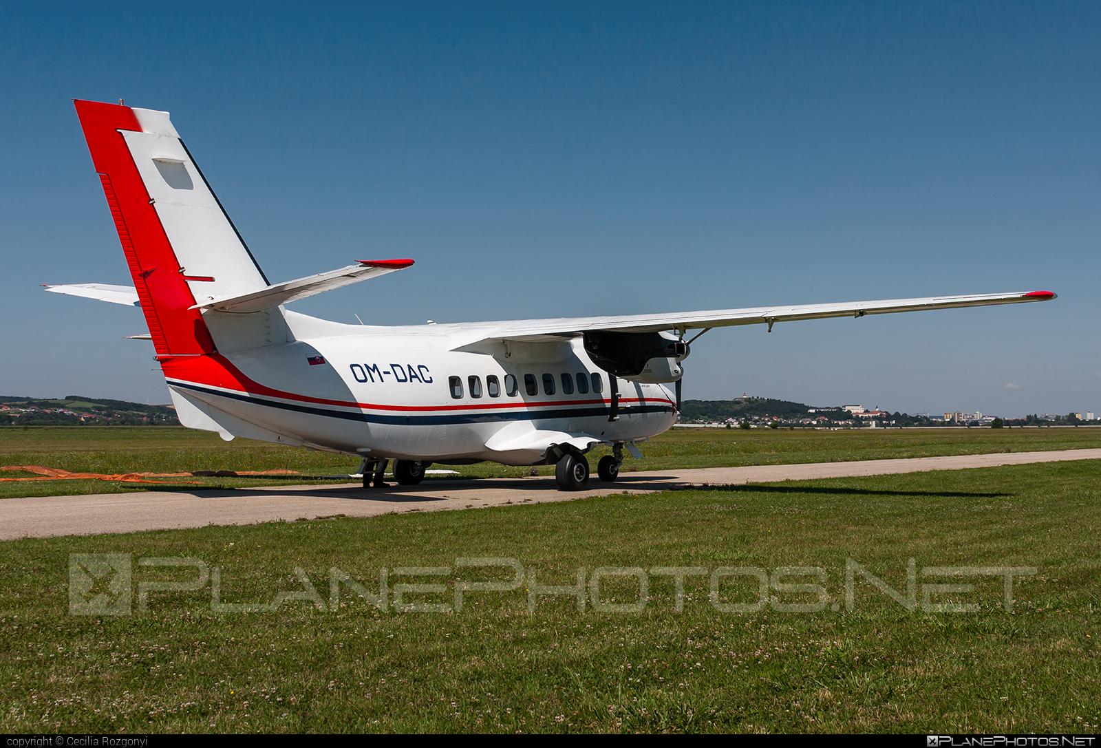 Let L-410UVP Turbolet - OM-DAC operated by Tatra FLEET #let #tatrafleet