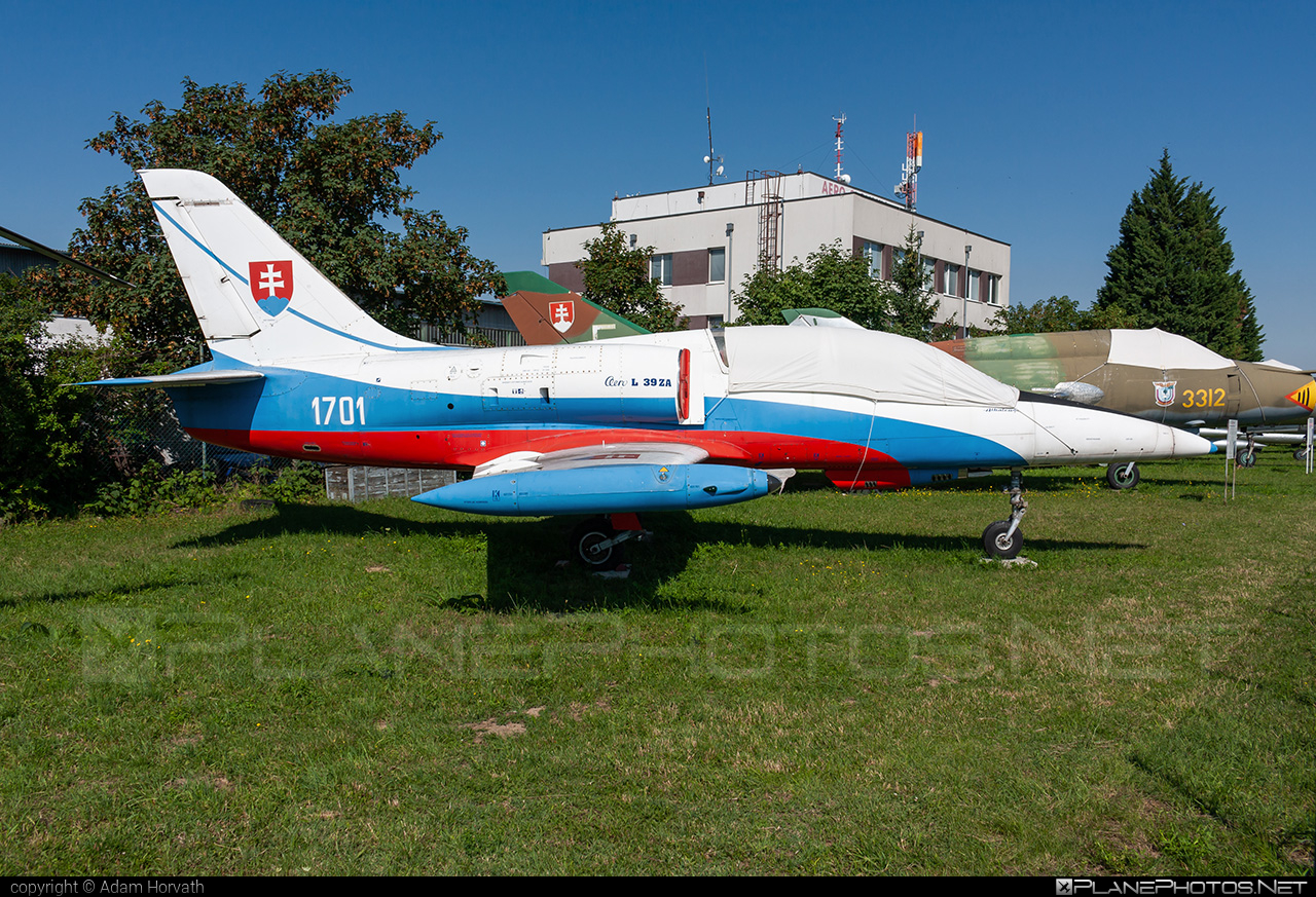 Aero L-39ZA Albatros - 1701 operated by Vzdušné sily OS SR (Slovak Air Force) #aero #aerol39 #aerol39albatros #aerol39zaalbatros #albatros #l39 #l39za #l39zaalbatros #slovakairforce #vzdusnesilyossr