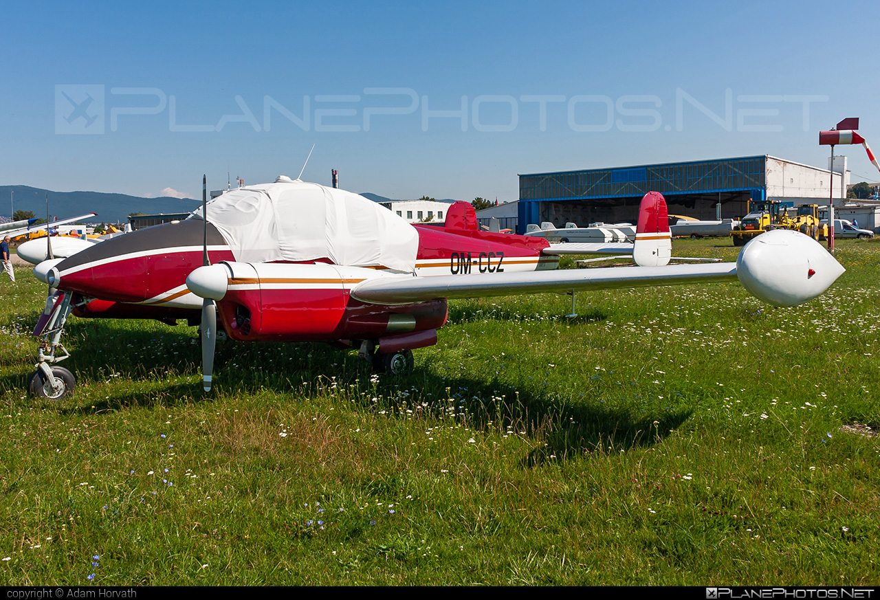 Let L-200A Morava - OM-CCZ operated by Private operator #let