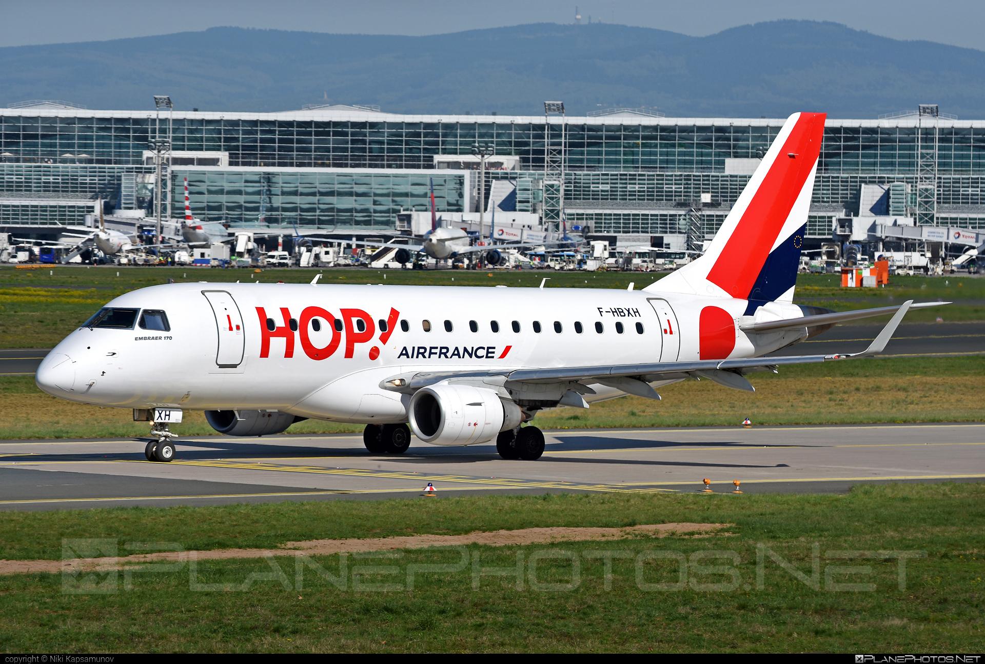 Embraer E170STD (ERJ-170-100STD) - F-HBXH operated by HOP! #e170 #embraer #embraer170 #embraer170std #erj170 #erj170100 #erj170100std #erj170std #hopairlines