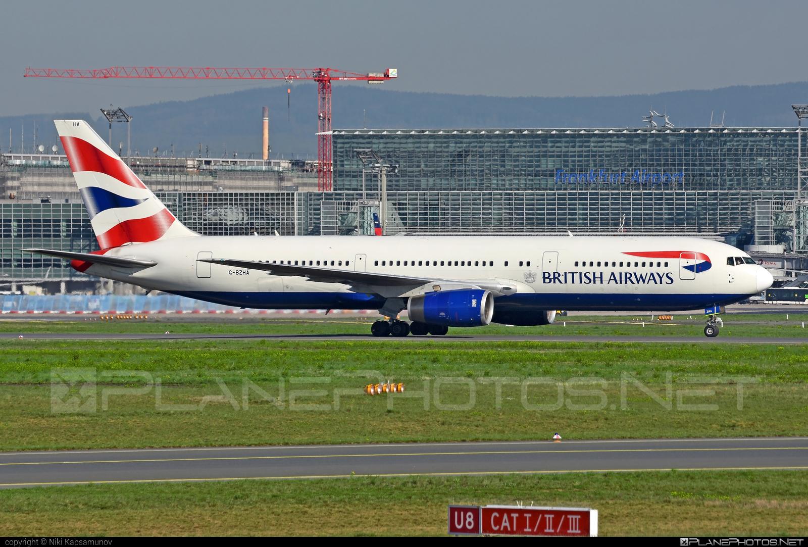 Boeing 767-300ER - G-BZHA operated by British Airways #b767 #b767er #boeing #boeing767 #britishairways