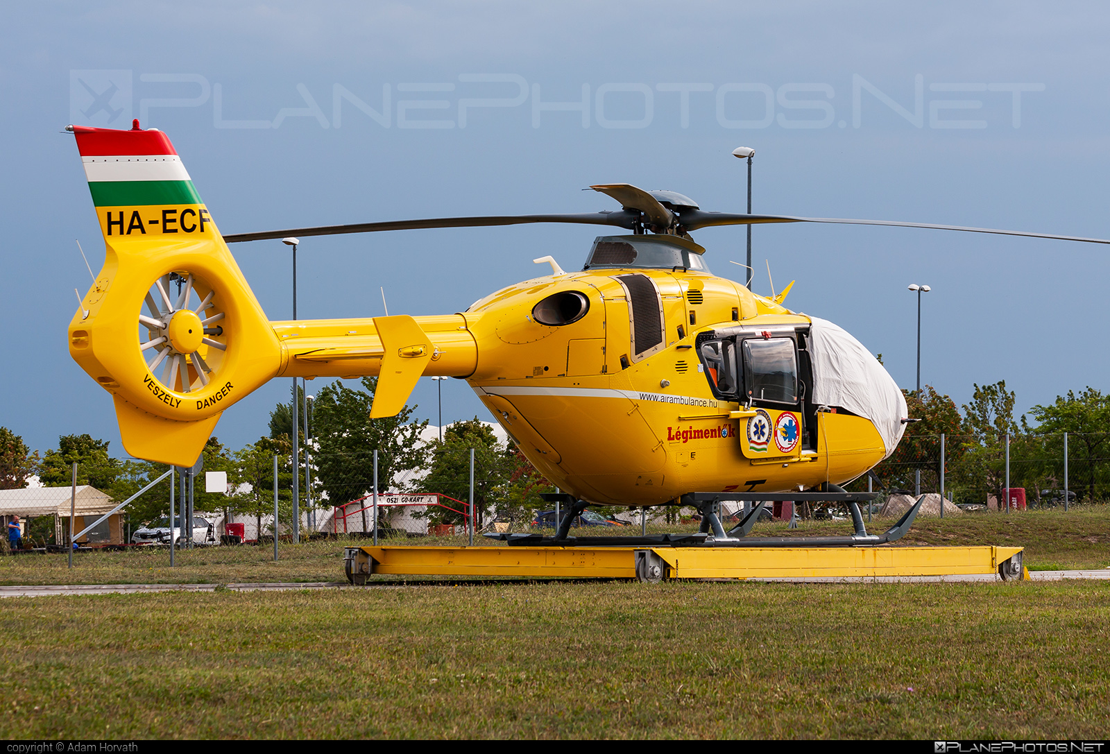 Eurocopter EC135 T2 - HA-ECF operated by Magyar Légimentő Nonprofit (Hungarian Air Ambulance) #ec135 #ec135t2 #eurocopter #hungarianairambulance #magyarlegimentononprofit