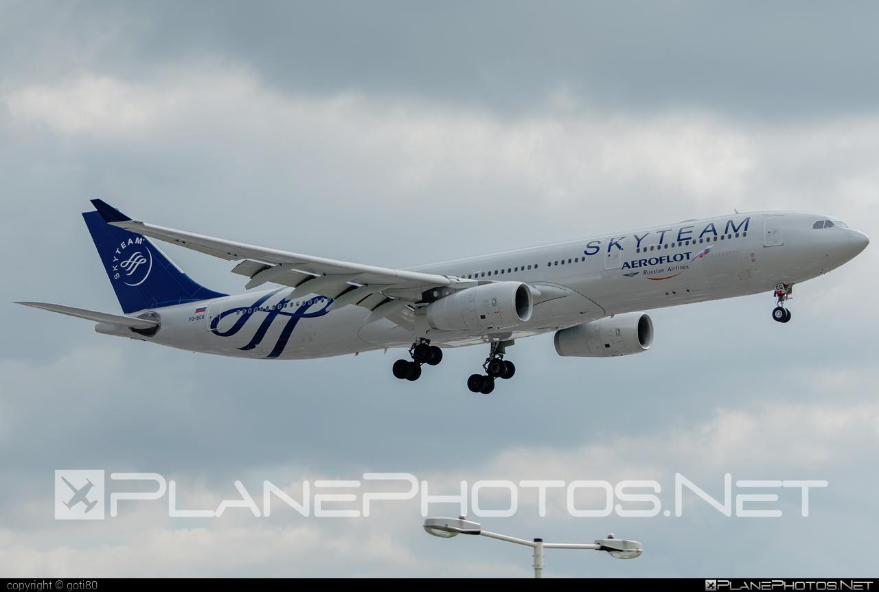 Airbus A330-343 - VQ-BCQ operated by Aeroflot #a330 #a330family #aeroflot #airbus #airbus330 #skyteam