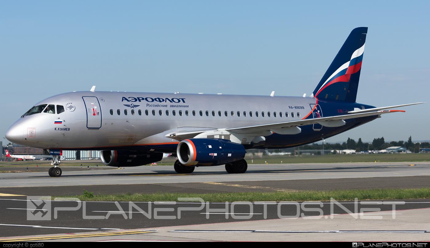 Sukhoi SSJ 100-95B Superjet - RA-89099 operated by Aeroflot #aeroflot #ssj100 #ssj10095b #sukhoi #sukhoisuperjet #superjet