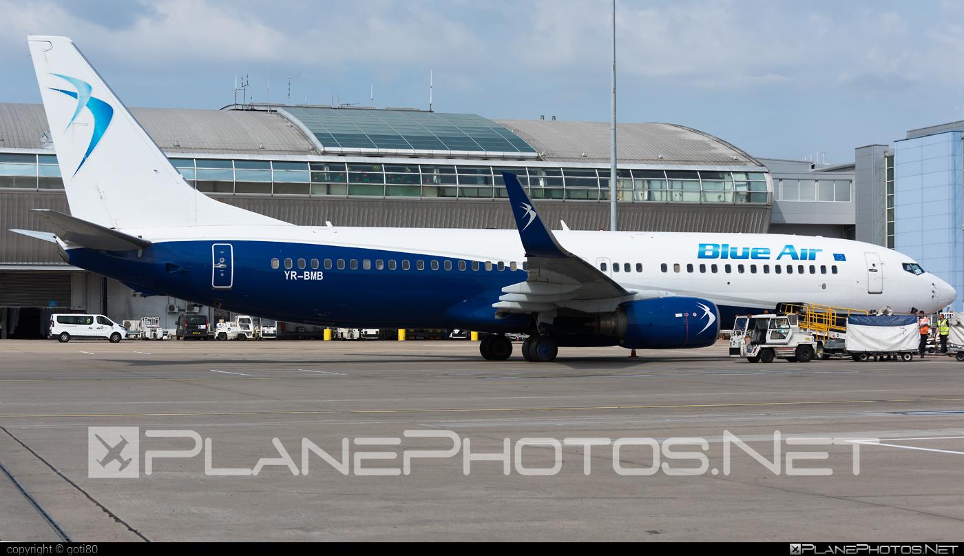 Boeing 737-800 - YR-BMB operated by Blue Air #b737 #b737nextgen #b737ng #boeing #boeing737
