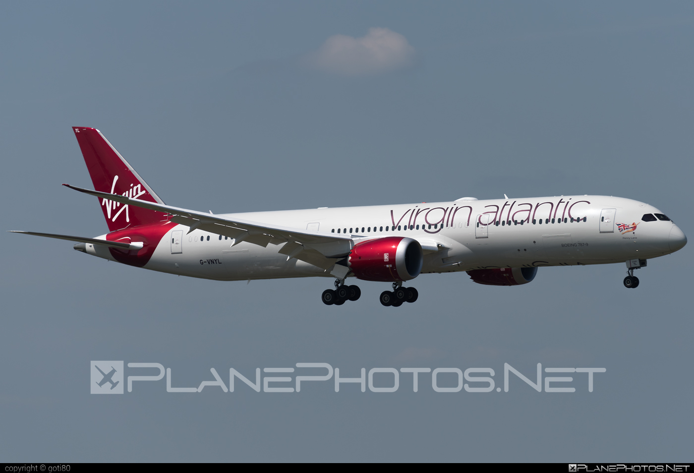 Boeing 787-9 Dreamliner - G-VNYL operated by Virgin Atlantic Airways #b787 #boeing #boeing787 #dreamliner #virginatlantic #virginatlanticairways