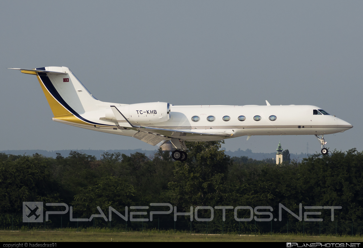 Gulfstream G450 - TC-KHB operated by Private operator #gulfstream