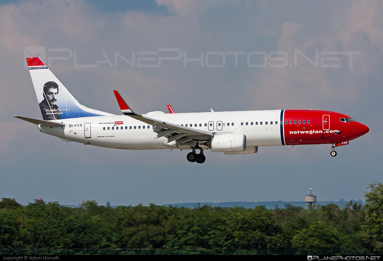 Boeing 737-800 - EI-FVX operated by Norwegian Air Shuttle #b737 #b737nextgen #b737ng #boeing #boeing737 #norwegian #norwegianair #norwegianairshuttle