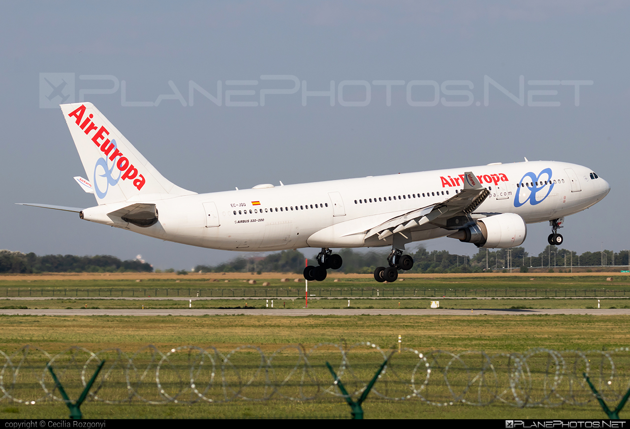Airbus A330-202 - EC-JQQ operated by Air Europa #a330 #a330family #airbus #airbus330