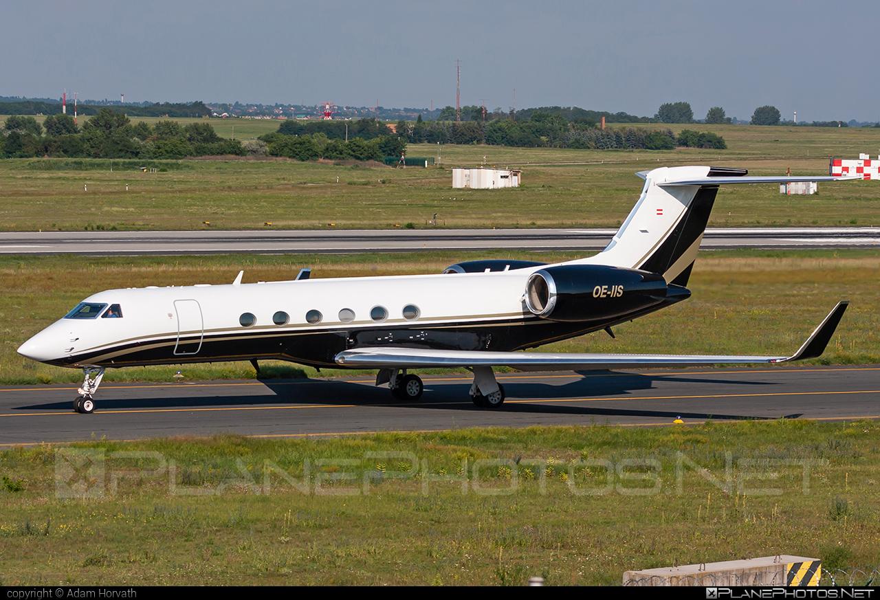 Gulfstream GV - OE-IIS operated by Avcon Jet #avconjet #gulfstream