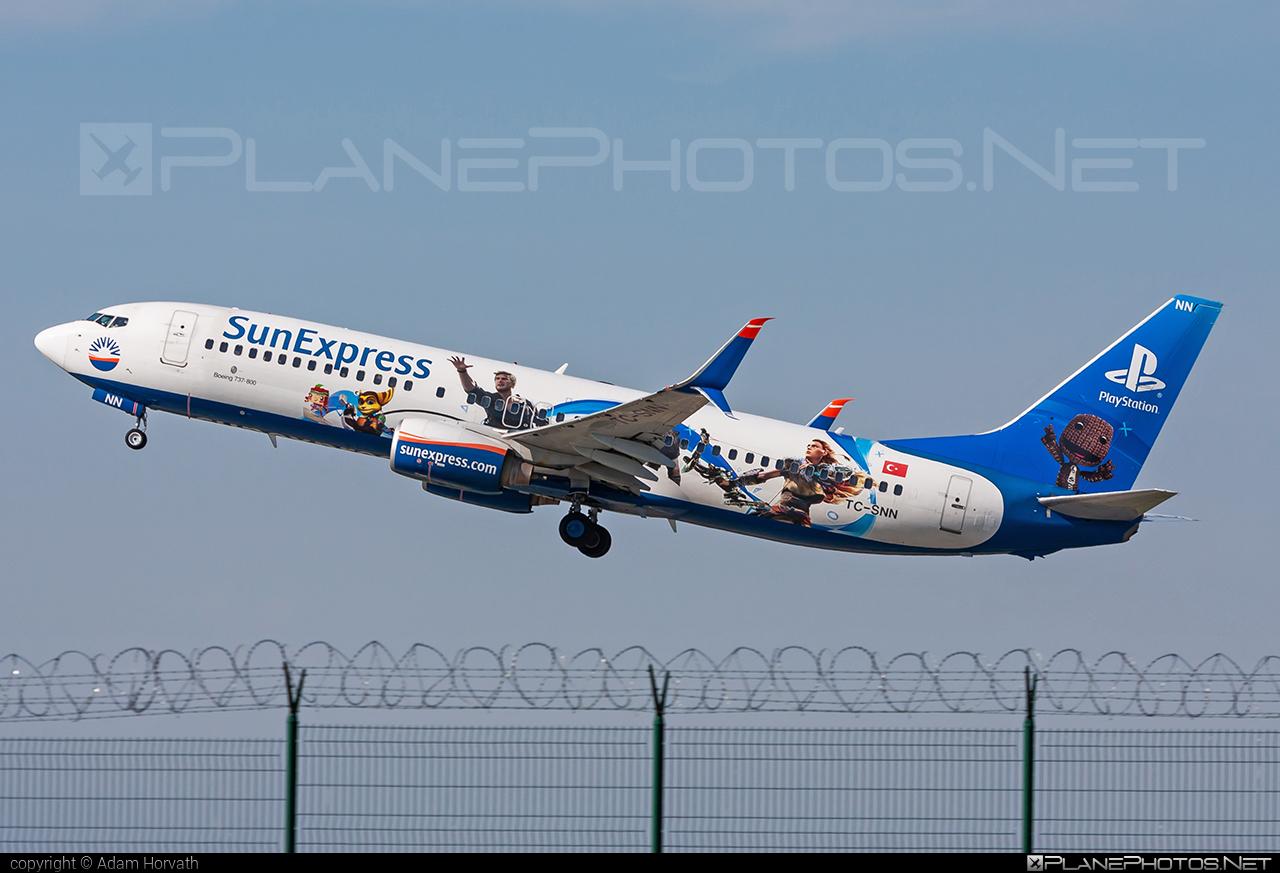 Boeing 737-800 - TC-SNN operated by SunExpress #b737 #b737nextgen #b737ng #boeing #boeing737 #sunexpress