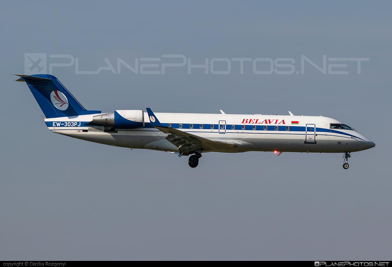 Belavia Belarusian Airlines Bombardier CRJ200LR - EW-303PJ #belavia #bombardier #crj200 #crj200lr