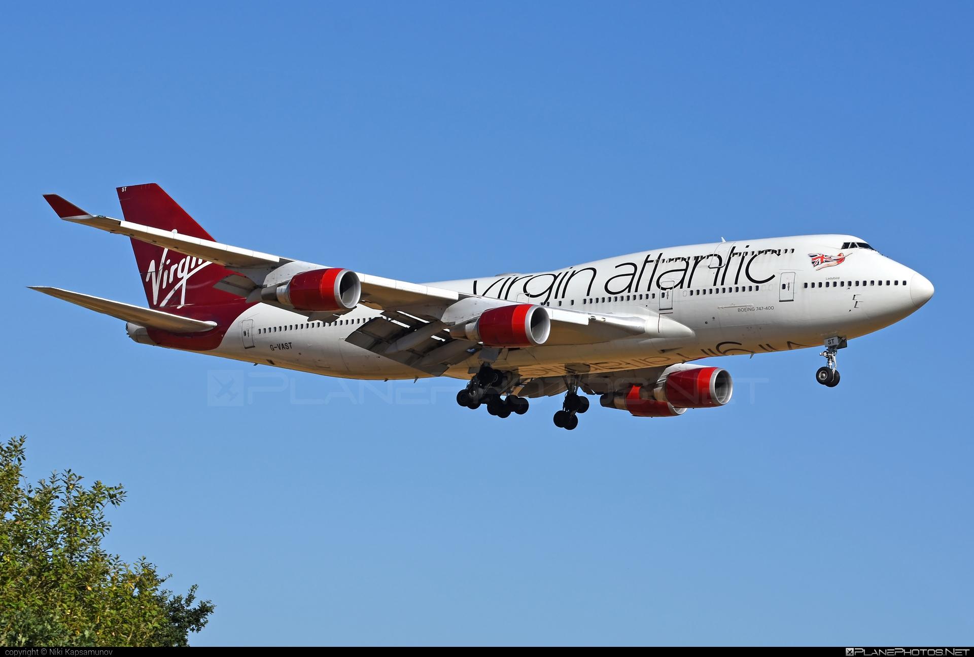 Boeing 747-400 - G-VAST operated by Virgin Atlantic Airways #b747 #boeing #boeing747 #jumbo #virginatlantic #virginatlanticairways