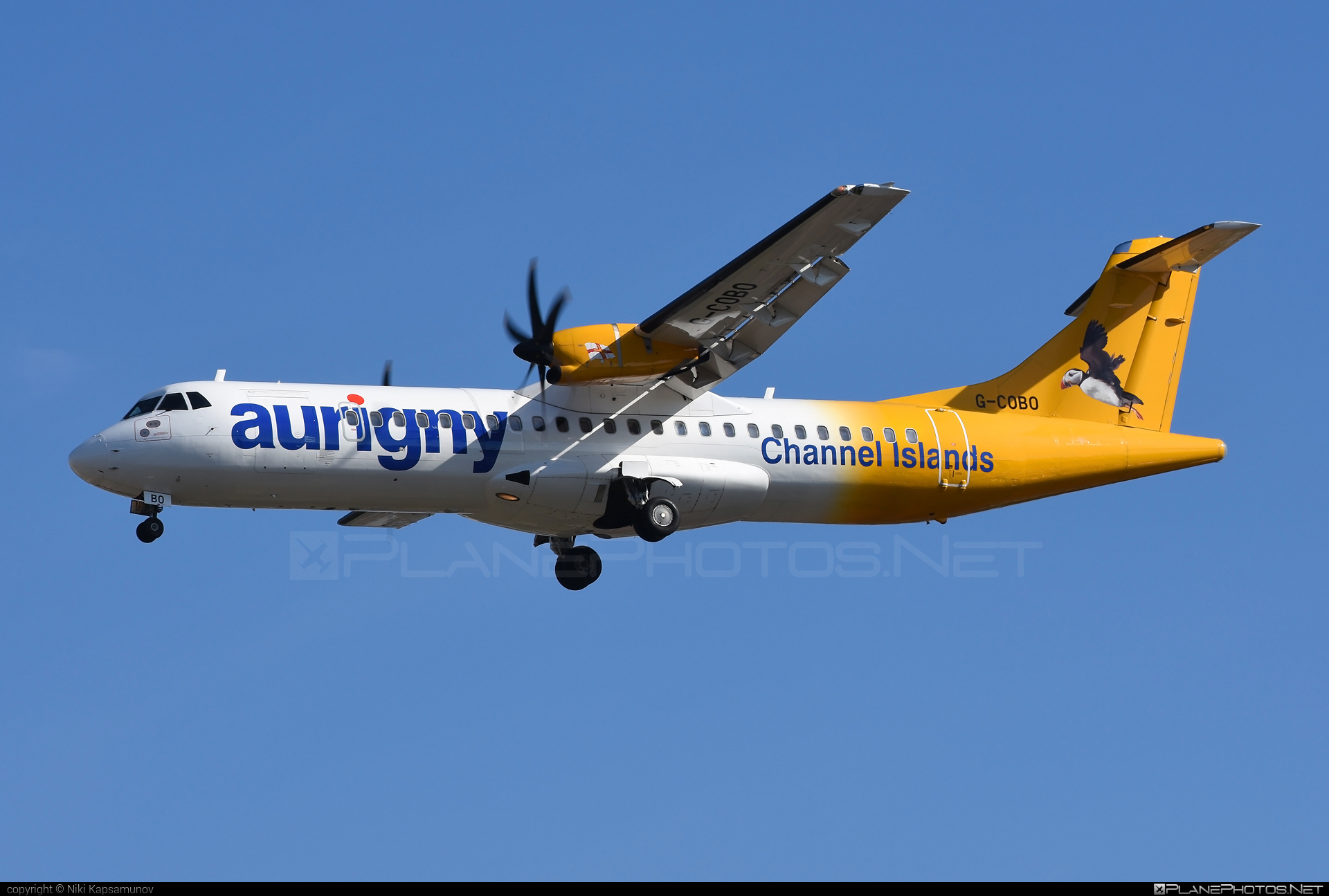 ATR 72-212A - G-COBO operated by Aurigny Air Services #atr