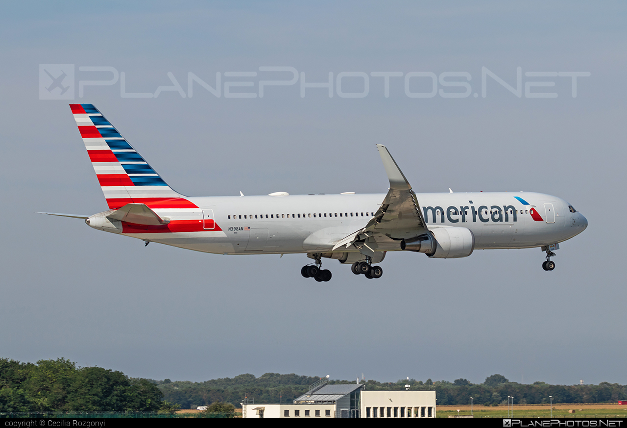 Boeing 767-300ER - N398AN operated by American Airlines #americanairlines #b767 #b767er #boeing #boeing767