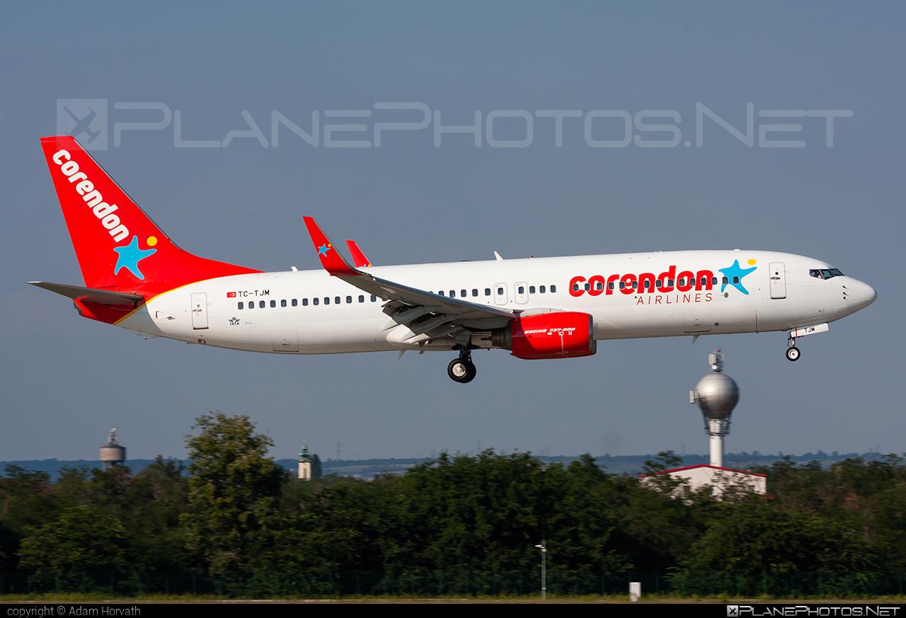 Corendon Airlines Boeing 737-800 - TC-TJM #b737 #b737nextgen #b737ng #boeing #boeing737