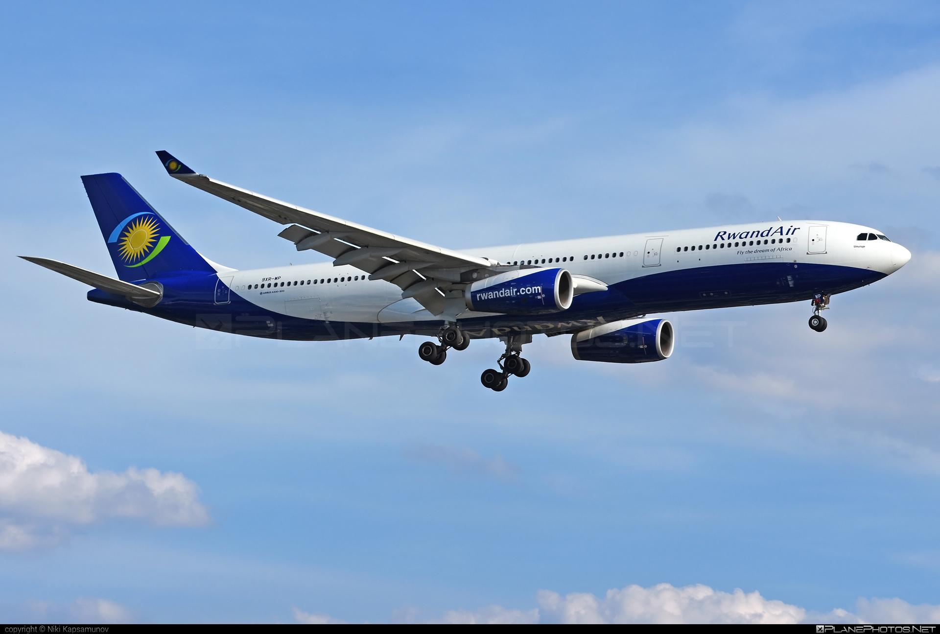 Airbus A330-343 - 9XR-WP operated by RwandAir #a330 #a330family #airbus #airbus330 #rwandair