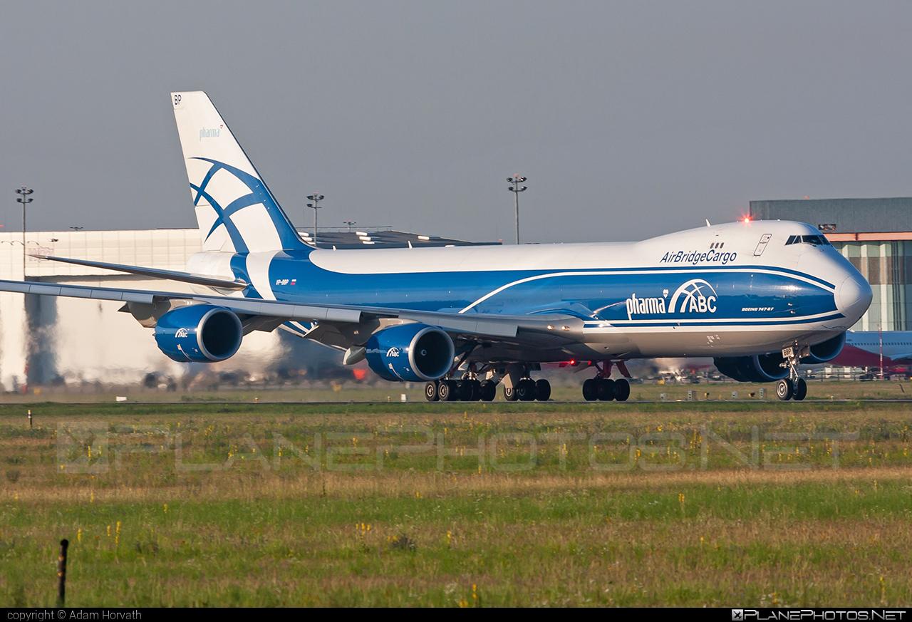 Boeing 747-8F - VP-BBP operated by AirBridgeCargo #airbridgecargo #b747 #b747f #b747freighter #boeing #boeing747 #jumbo
