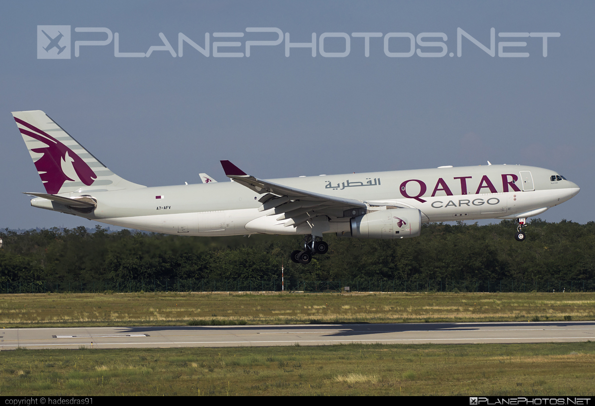 Airbus A330-243F - A7-AFV operated by Qatar Airways Cargo #a330 #a330f #a330family #airbus #airbus330 #qatarairwayscargo