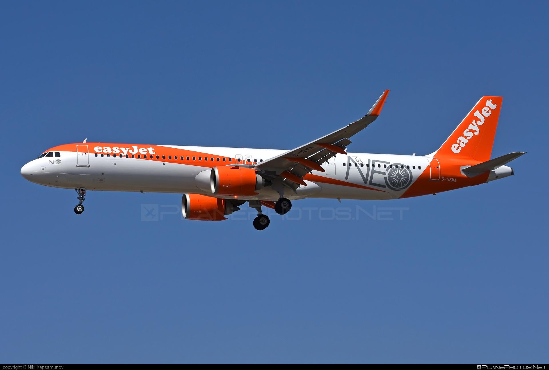 easyJet Airbus A321-251NX - G-UZMA #a320family #a321 #a321neo #airbus #airbus321 #easyjet