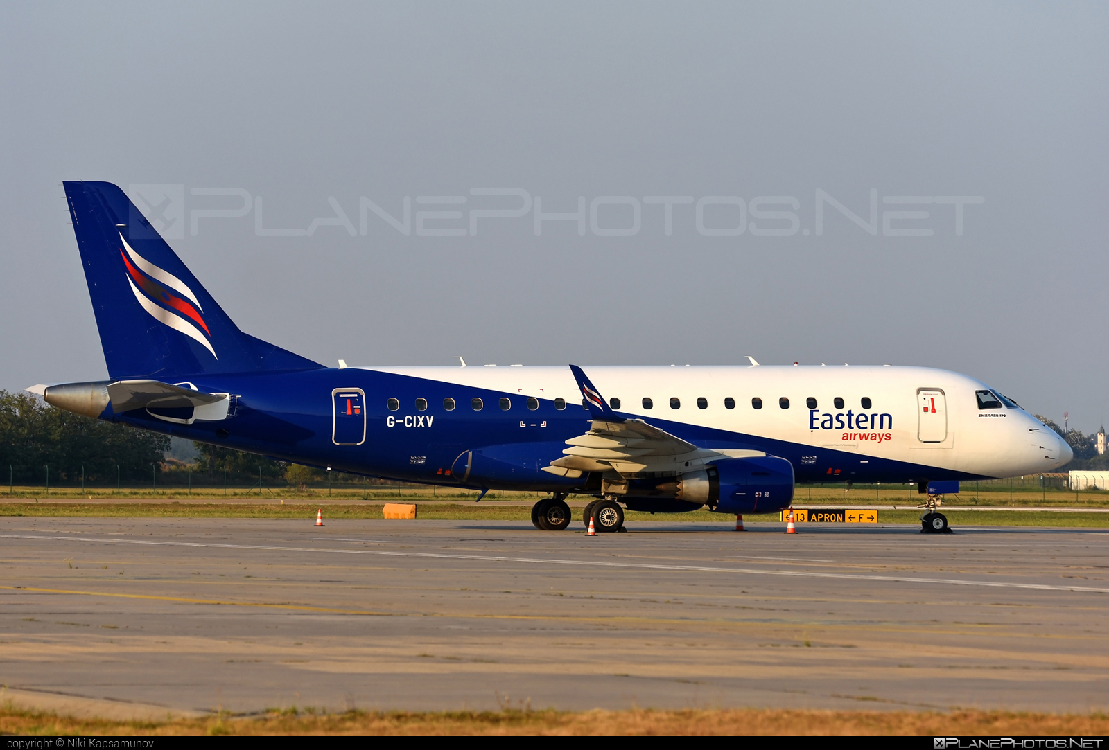 Eastern Airways Embraer 170-100LR - G-CIXV #embraer